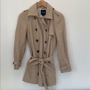 Gryphon timeless mini trench coat